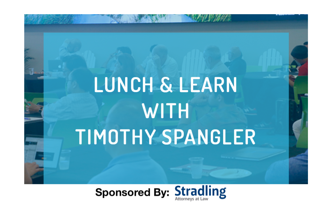 Lunch and Learn with Timothy Spangler