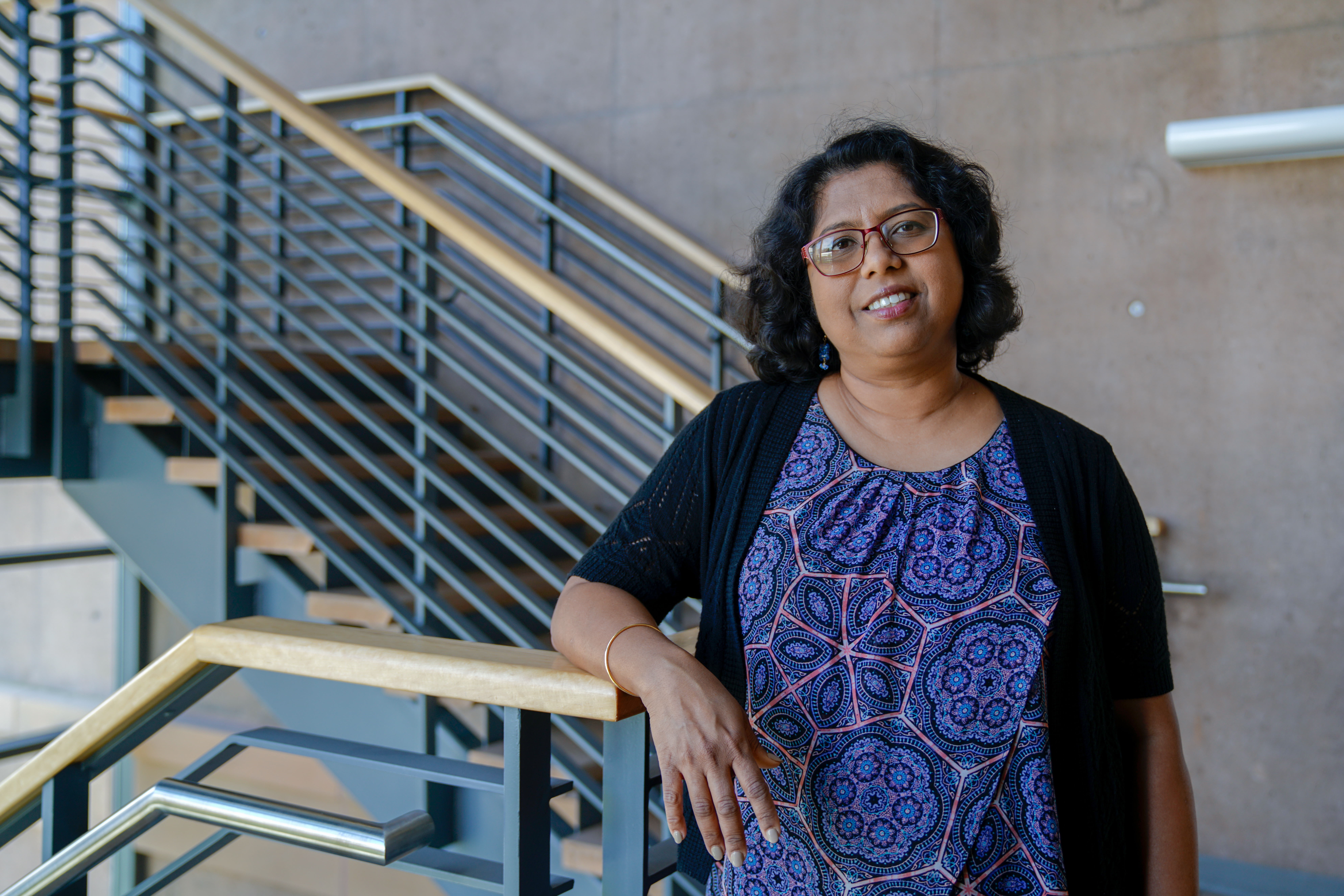 Putting the 'A' in STEAM: Professor Aditi Majumder uses Computer Science to Amplify Art