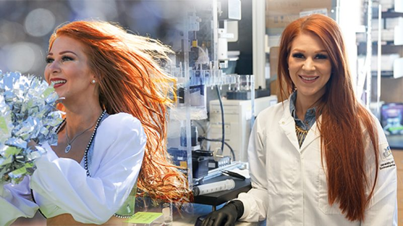 Q&A: Wendy Brown, UCI Postdoc, Cartilage Pro and Professional Cheerleader
