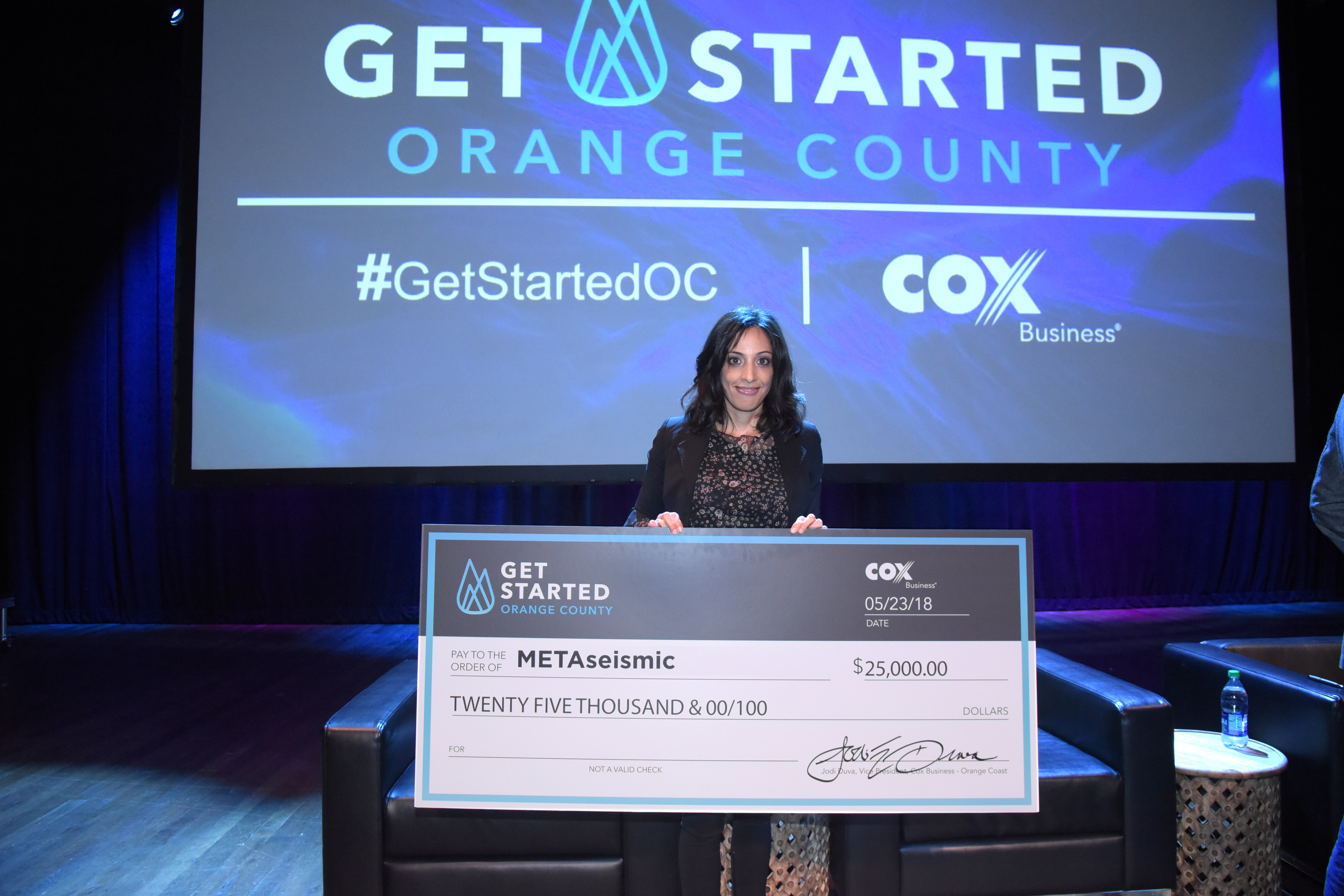 UCI Startup MetaSeismic Wins Cox Business' Get Started OC 2018 Pitch Competition