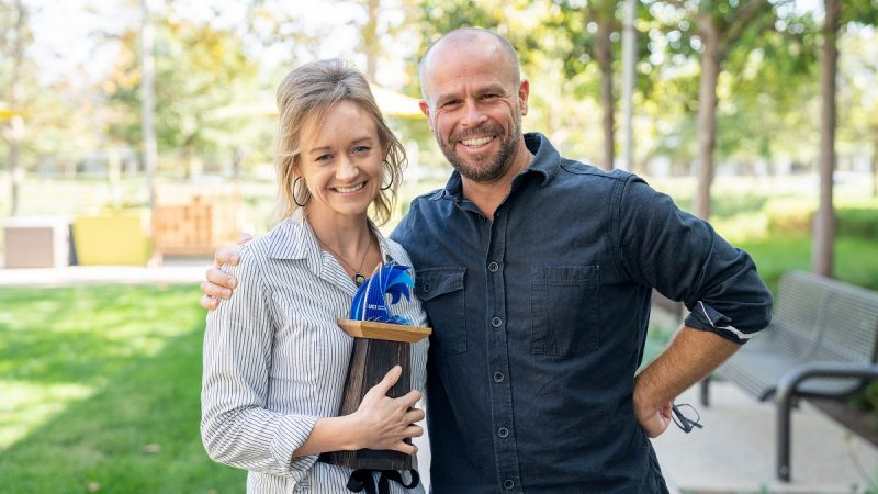 UCI Beall Applied Innovation's Marketing and Communications Design Team Receives 2019 GlobalTrend Award
