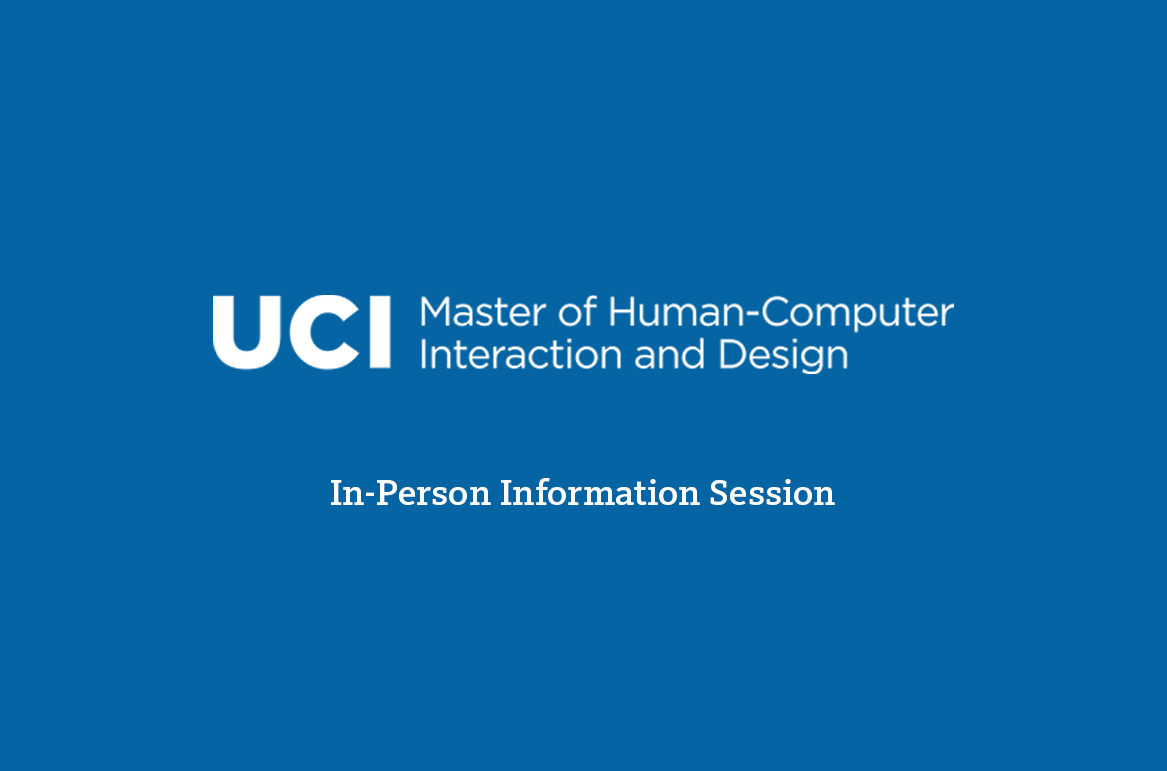 UCI Donald Bren School of Information & Computer Science - MHCID Info Session