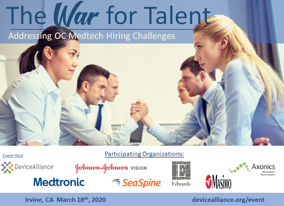 WAR FOR TALENT, OC MEDTECH EVENT