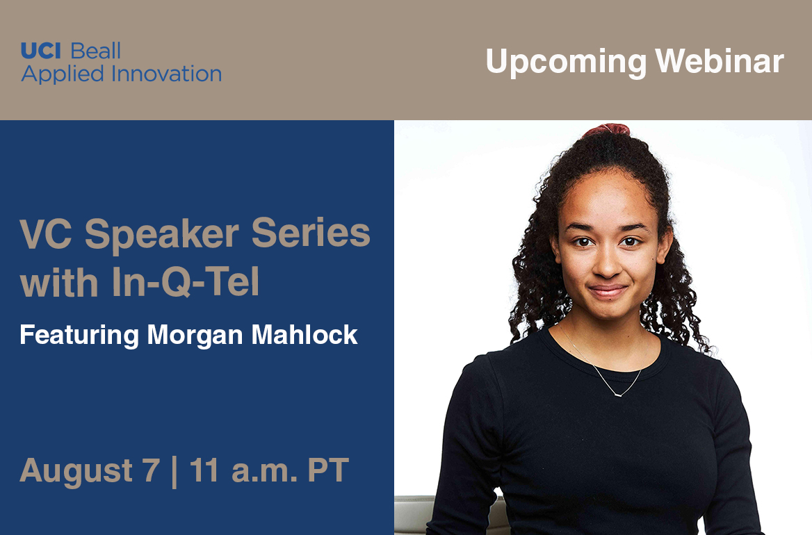 VC Speaker Series Featuring Morgan Mahlock
