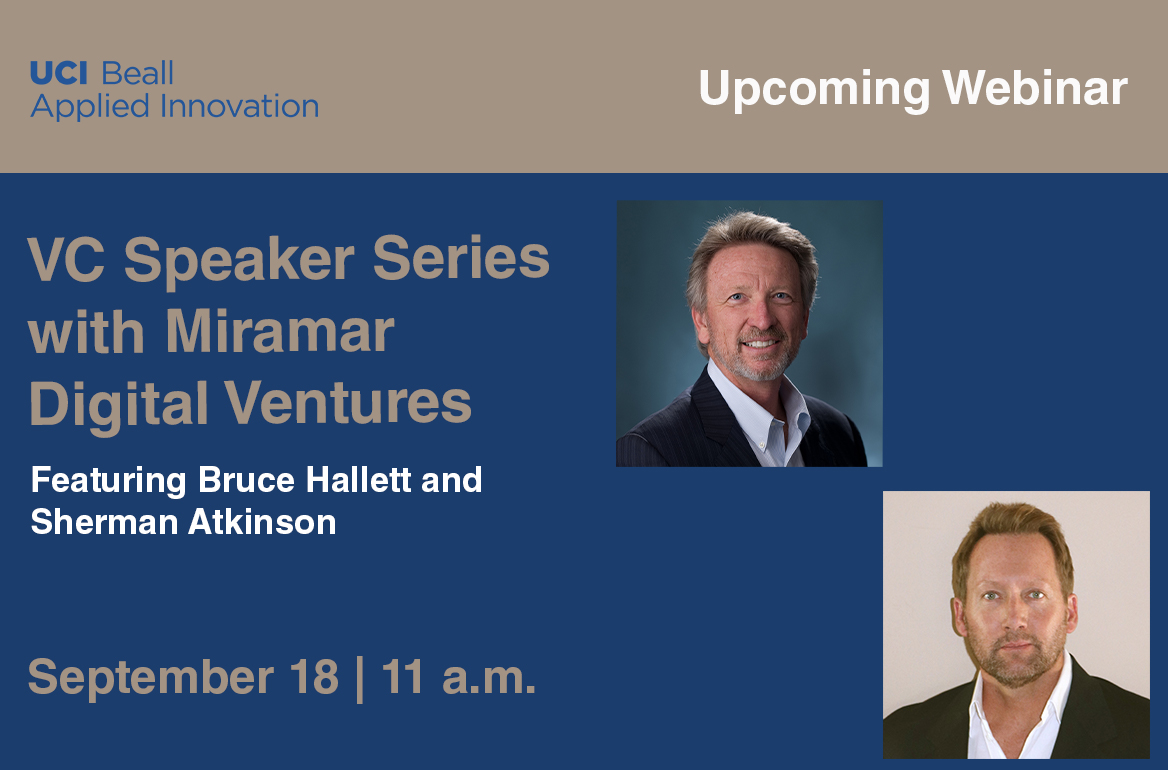 VC Speaker Series September 18