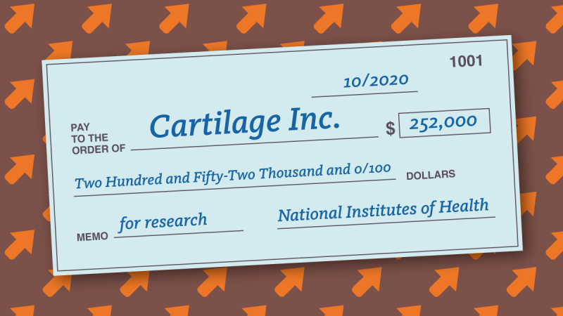 UCI Startup Cartilage Inc. Receives $252K to Address Cartilage Healing