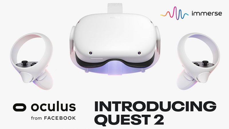 """Facebook Dubs Immerse VR App a """"Featured Title"""" for Oculus Quest 2"""