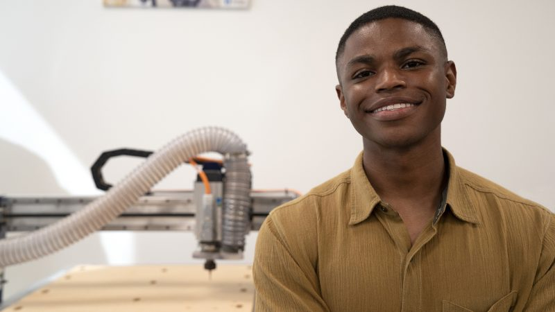 Student Startup Fund Recipient Landon Williams Doesn't Go After Low-Hanging Fruit