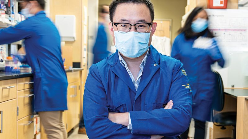 Weian Zhao Develops Microscopic Solutions to Medicine's Biggest Problems