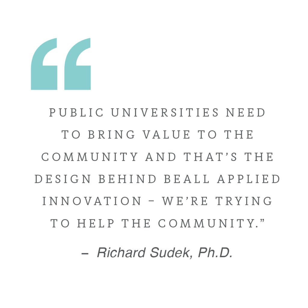 pull quote about public universities
