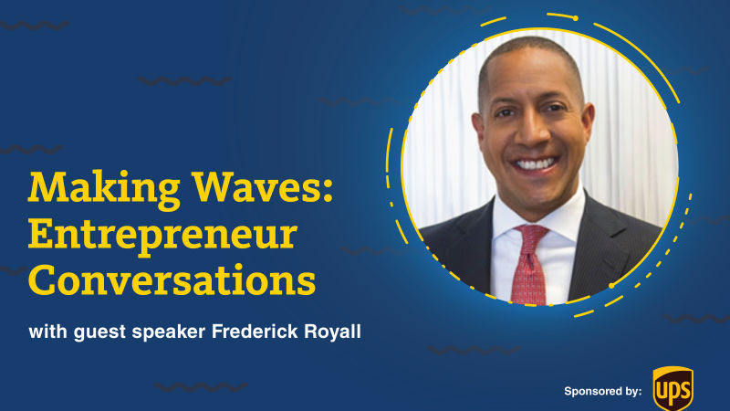 Capital Markets Expert Offers Advice During Making Waves: Entrepreneur Conversations