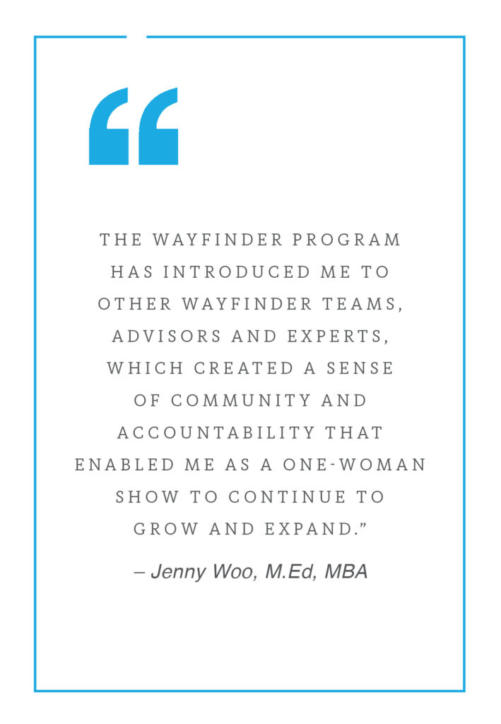 Jenny Woo pull quote