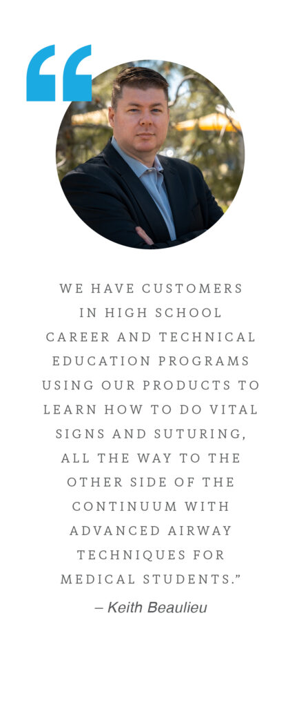 startup SimRated quote from Keith Beaulieu about customers