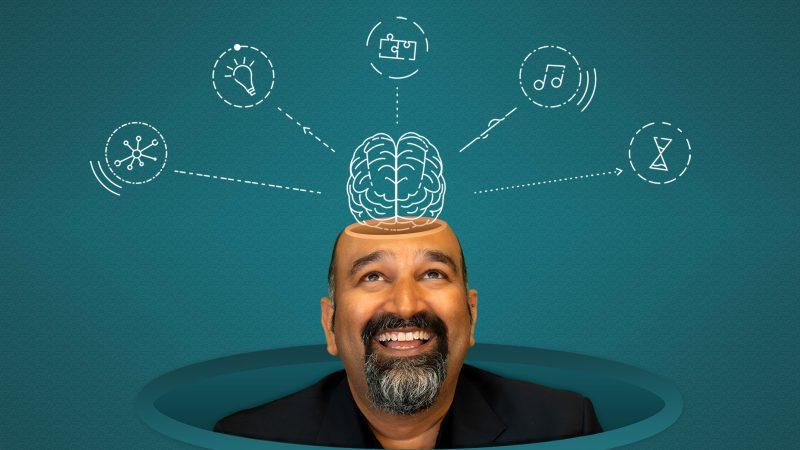 Sunil Gandhi Takes a Look Inside the Brain