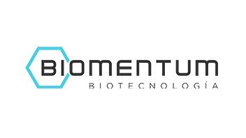 Biomentum Biotecnologia black logo