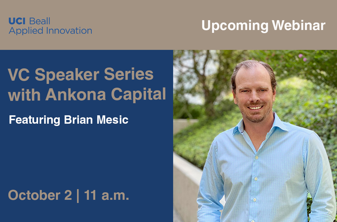VC Speaker Series with Ankona Capital featuring Brian Mesic