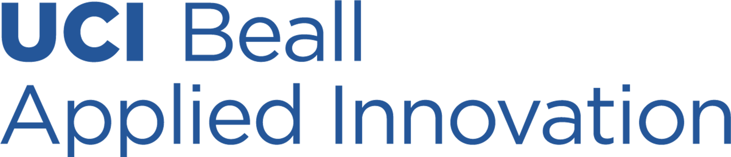 UCI Beall Applied Innovation Logo